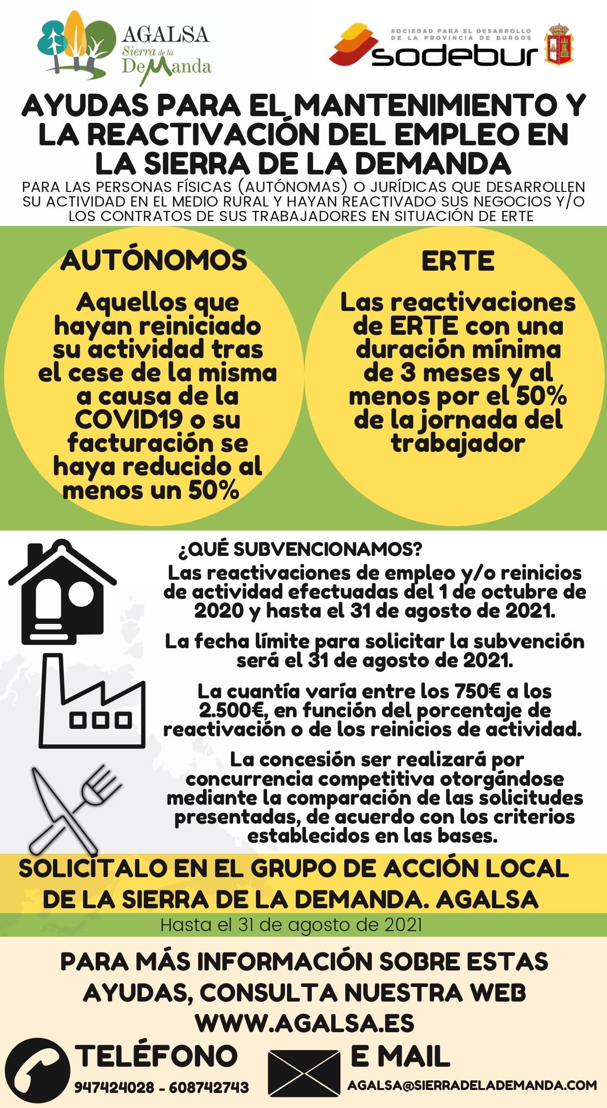 AGALSA contará con nuevos fondos para mantener y reactivar el empleo en la Sierra de la Demanda, gracias al nuevo convenio que se ha firmado con SODEBUR